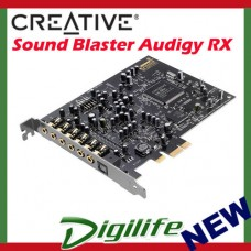 Creative Sound Blaster Audigy Rx PCI-E 7.1 Sound Card