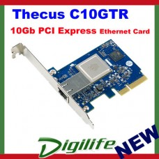 Thecus C10GTR 10Gb PCI Express Ethernet Adapter Card
