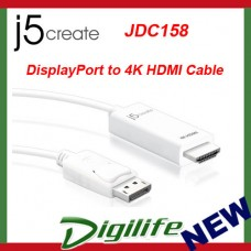 j5create DisplayPort to 4K HDMI Cable JDC158