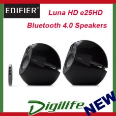Edifier Luna HD e25HD Bluetooth Speakers w/ Optical In - Black