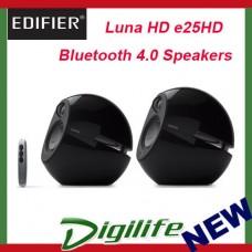 Edifier Luna HD e25HD Bluetooth Speakers w/ Optical In - Black