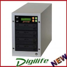 evocept CopyBlast Ultimate DVD/CD 3 Drive Duplicator Copier Tower with USB Copy