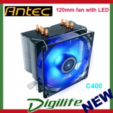 Antec CPU Air Cooler C400 120mm fan with LED with Copper Coldplate