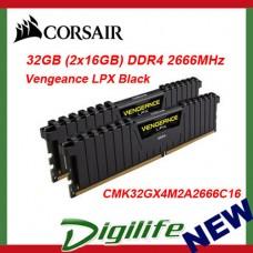 Corsair Vengeance LPX 32GB 2x16GB DDR4 2666MHz Memory C16