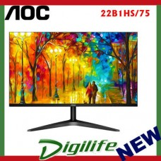 "AOC 22B1HS 21.5"" IPS 7ms Full HD 3-Way Frameless Slim Monitor HDMI/VGA,VESA"