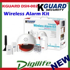 KGUARD DSH-002 Wireless Home & Business Alarm Kit Security System