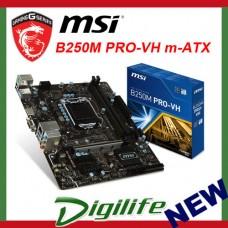 MSI B250M PRO VH LGA1151 mATX Desktop Motherboard B250