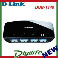 D-Link DUB-1340 4-Port SuperSpeed USB 3.0 HubC