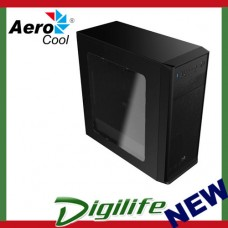 Aerocool Black SI-5100 ATX Mid Tower Computer Case (USB 3.0)