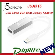 J5create USB 3.0 to VGA Slim Display Adapter JUA315