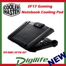 CoolerMaster SF-17 cm storm Gaming Laptop Cooling Pad cooler master sf17