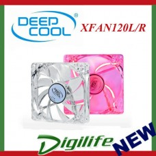 DeepCool 120mm XFAN120 Red LED 1300RPM Fan