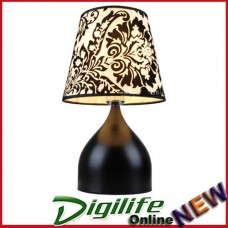 Modern Elegant and Fashionable Bedside & Living room Table Lamp Black T6088