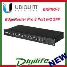 Ubiquiti Networks EdgeRouter ERPro-8 8 Port Gigabit Network Router