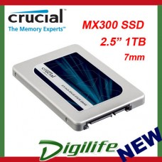 "Crucial MX300 1TB 2.5"" SATA III SSD with Adapter - CT1050MX300SSD1"