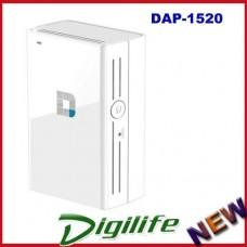 D-Link DAP-1520 Wireless AC750 Dual Band Range Extender QRS WPS