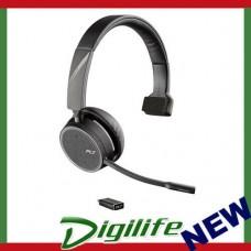 Plantronics Voyager 4210 USB-C Monaural Bluetooth Headset 211317-02
