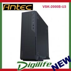 Antec VSK-2000B-U3 Front USB 3.0 ATX Micro-ATX Slim Desktop Case