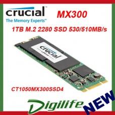 Crucial MX300 1TB M.2 2280 SSD - CT1050MX300SSD4