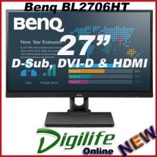 "BenQ BL2706HT 27"" Full HD IPS VA LED Business Monitor VGA DVI 2xHDMI Speakers"