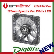 BitFenix Spectre PRO Series 120mm White LED Case Fan