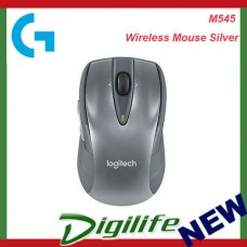 Logitech M545 Wireless Mouse Silver
