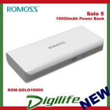 ROMOSS Solo 5 10000mAh Portable Power Bank with Synchronous Charging