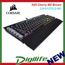 Corsair  K95 RGB PLATINUM Mechanical Gaming Keyboard Cherry MX Brown