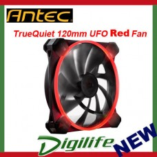 Antec TrueQuiet UFO 120mm Red LED Case Fan