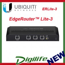 Ubiquiti Networks EdgeRouter ERLite-3 3 Port Gigabit Router - AUS