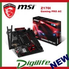 MSI Z170I Gaming Pro AC LGA 1151 mini-ITX Motherboard - Z170I-GamingProAC