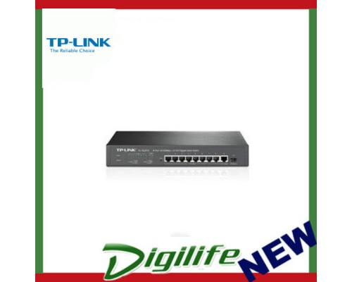 TP-Link SL2210 8x10/100Mbps+2xGigabit Smart Switch 802.1Q VLAN L2/L3/L4 QoS IGMP