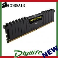 Corsair Vengeance LPX 16GB (1x16GB) DDR4 3000MHz C15 Desktop Gaming Memory Black