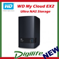Western Digital WD My Cloud EX2 Ultra 20TB 2-Bay NAS Personal Cloud Storage