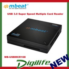 mBeat USB 3.0 Super Speed Multiple Card Reader (SD, CF, XD and MS) MB-USBMCR168
