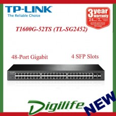 JetStream 48-Port Gigabit Smart Switch with 4 SFP Slots TL-SG2452