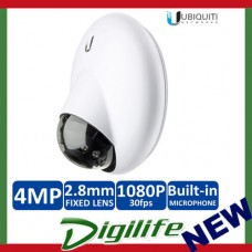 Ubiquiti Networks UVC-G3-DOME 1080p FHD H.264 IP Dome Surveillance Camera