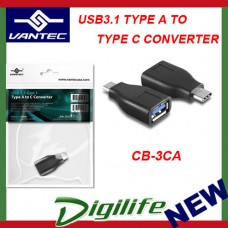 VANTEC USB 3.1 TYPE A TO TYPE C CONVERTER CB-3CA USB-C Adapter