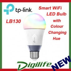 TP-Link LB130 Smart Wi-Fi LED Bulb with Colour Changing Hue Google Home mini