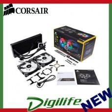 Corsair Hydro Series H115i 280mm RGB PLATINUM Liquid CPU Cooler CW-9060038-WW