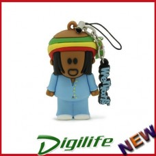 Cirkuit Planet PD1308-8 Natty Dub 3D 8GB Memory Stick USB 2.0 Flash Drive