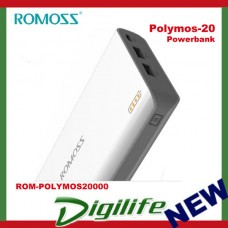 ROMOSS Polymos 20 Power Bank - 20000 mAh Li-Polymer Synchronous Charging