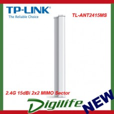TP-Link TL-ANT2415MS 2.4G 15dBi 2x2 MIMO Sector Antenna - TL-ANT2415MS
