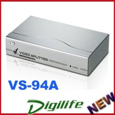 Aten VanCryst 4 Port VGA Video Splitter 350Mhz 1920x1440@60Hz Up to 65m VS-94A