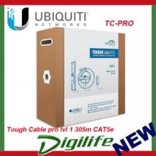 Ubiquiti Tough Cable pro lvl 1 305m CAT5e 100Mbps support - TC-PRO