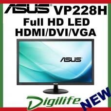 "ASUS VP228H 21.5"" 1ms Full HD LED Monitor Speakers Eye Care Technology"