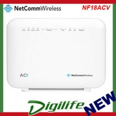 NetComm NF18ACV AC1600 WiFi VDSL/ADSL Modem Router with Voice - Gigabit WAN