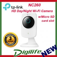 TP-Link NC260 HD Day and Night Wi-Fi Camera