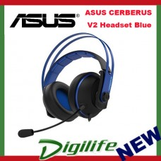 ASUS Cerberus V2 Binaural Head-band Black Blue headset