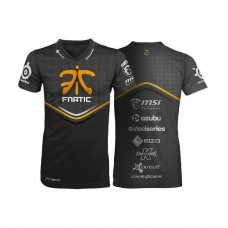 Fnatic Black 2XLPlayer T-Shirt 2013-14